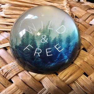Wild & Free Boho Paperweight